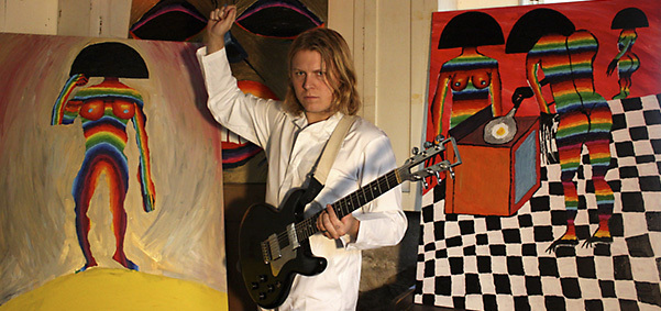 Ty Segall - credit: Photo by Denee Segall