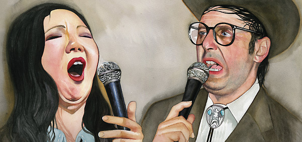 Margaret Cho & Neil Hamburger - credit: Michael Gaughan