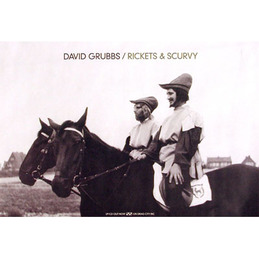 David Grubbs: Rickets & Scurvy Poster (DC224P)