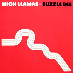 The High Llamas: Buzzle Bee Poster [Red] (DC191PR)