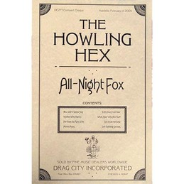 The Howling Hex: All-Night Fox Poster (DC277P)