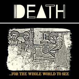 Death: Logo/Photo T-Shirt [Black] (DC387T2)
