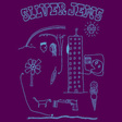 Silver Jews: Cartoon T-Shirt [Eggplant] (SJCT3)