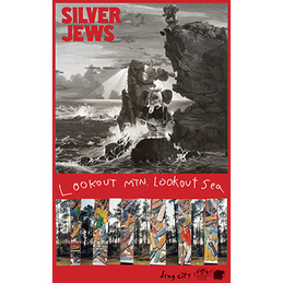 Silver Jews: Lookout Mountain, Lookout Sea Poster (DC358P)