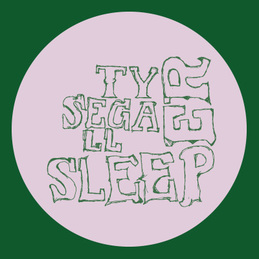 Ty Segall: Sleeper T-Shirt - GREEN (DC565TG)