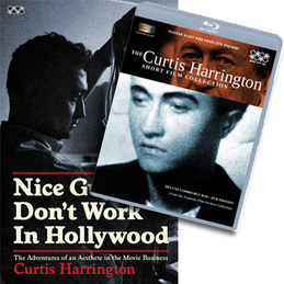 Curtis Harrington: Curtis Harrington Book & Video Bundle (DC407B)