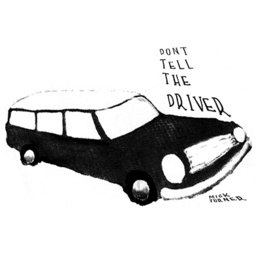 Mick Turner: Don't Tell the Driver T-Shirt (DC569T)