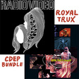 Royal Trux: EPs R Trux CDEP Bundle (DC154/DC185 CD)