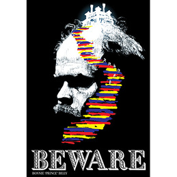 "Bonnie ""Prince"" Billy: Beware Poster (DC666P)"