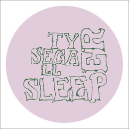 Ty Segall: Sleeper T-Shirt - WHITE (DC565TW)