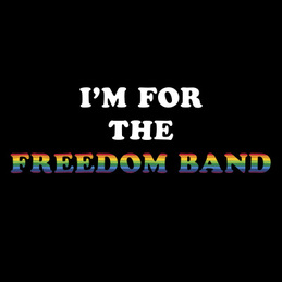 Ty Segall & Freedom Band: I'M FOR THE FREEDOM BAND T-Shirt. (Limited) (DC675TALT)