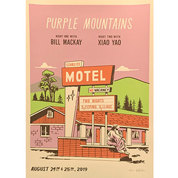 Purple Mountains: Sleeping Village Show Posters (DC680P2)
